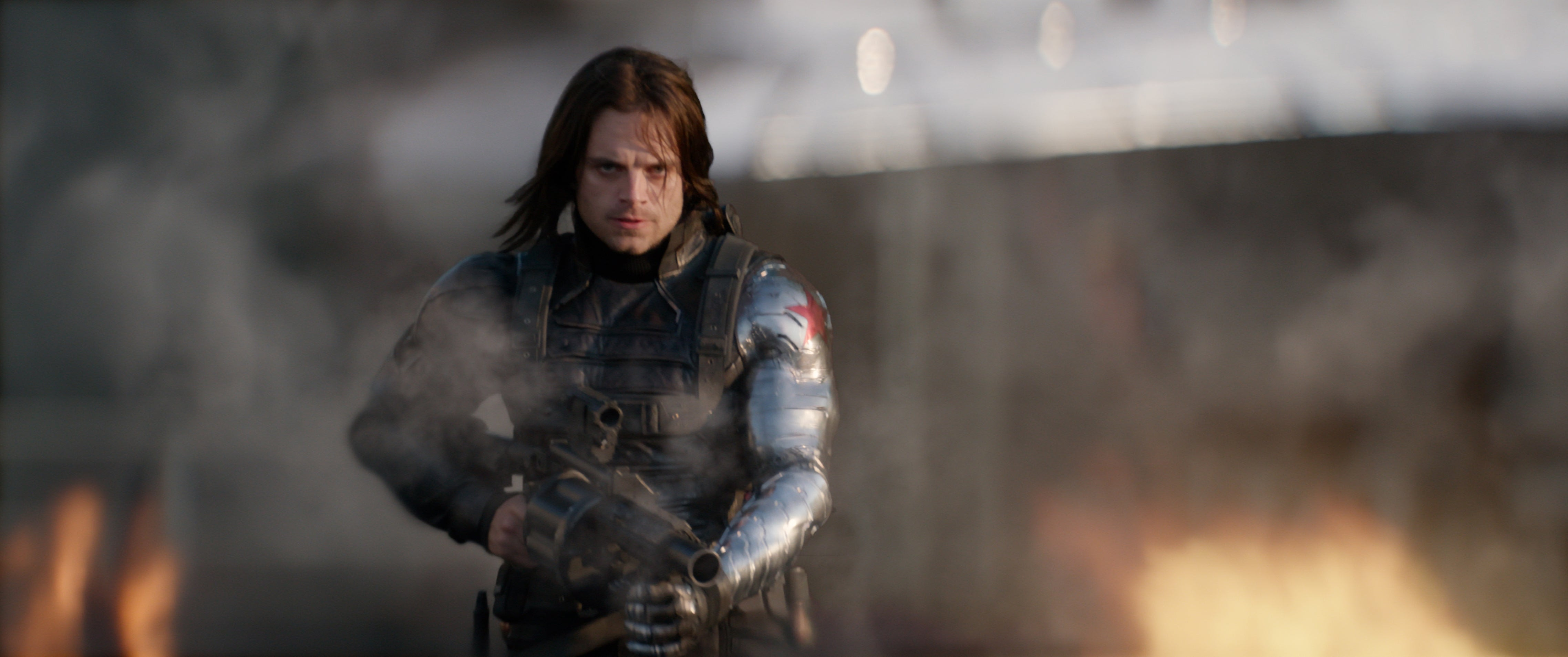 "Sebastian Stan as Bucky Barnes in ""Captain America: The Winter Soldier"""