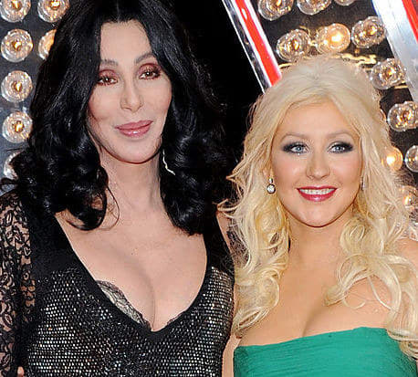 cher and xtina