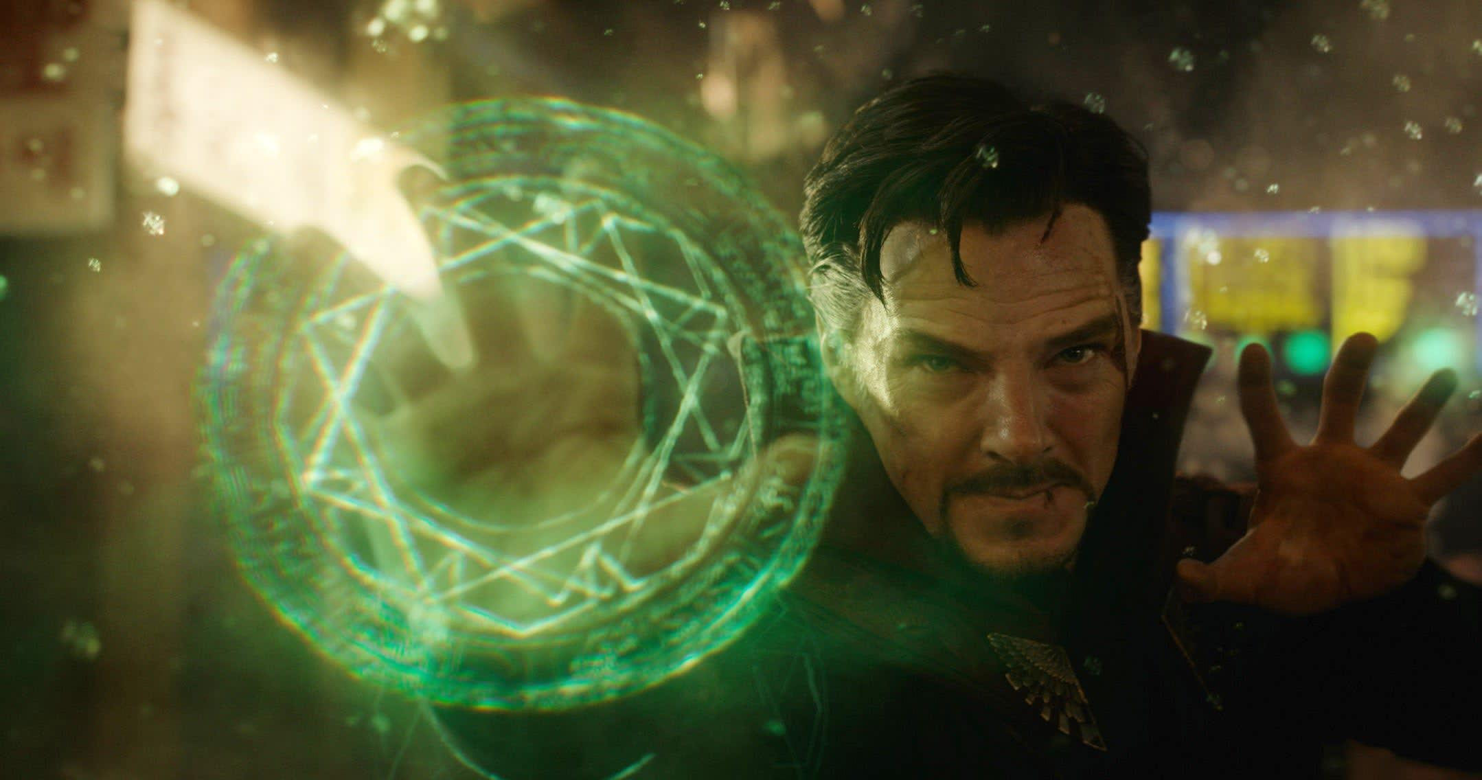 "Benedict Cumberbatch as Stephen Strange in ""Doctor Strange"""
