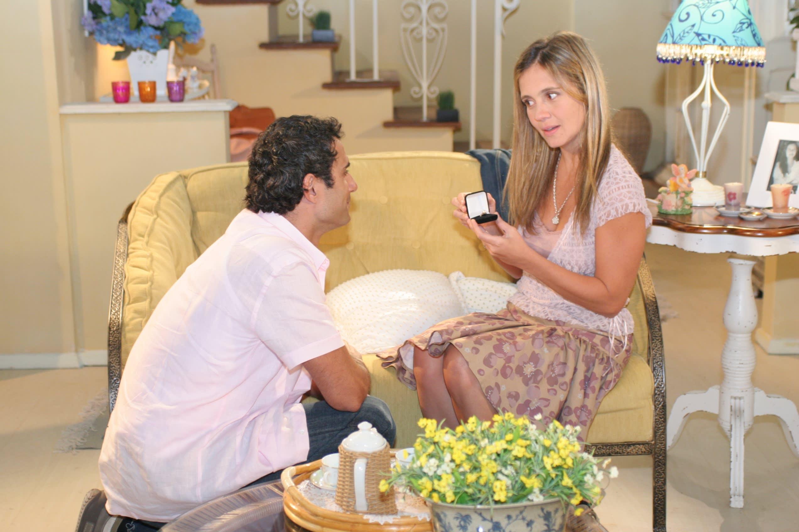 Marcos Pasquim e Adriana Esteves