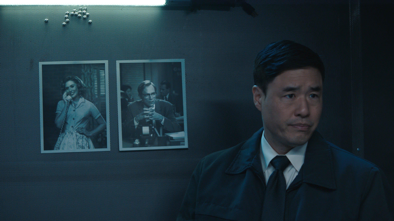 "Randall Park as Jimmy Woo in ""WandaVision"""