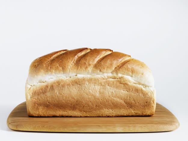 Pão de forma inteiro com casca