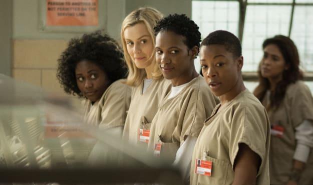"""Cena da série do Netflix """"Orange Is the New Black""""."""