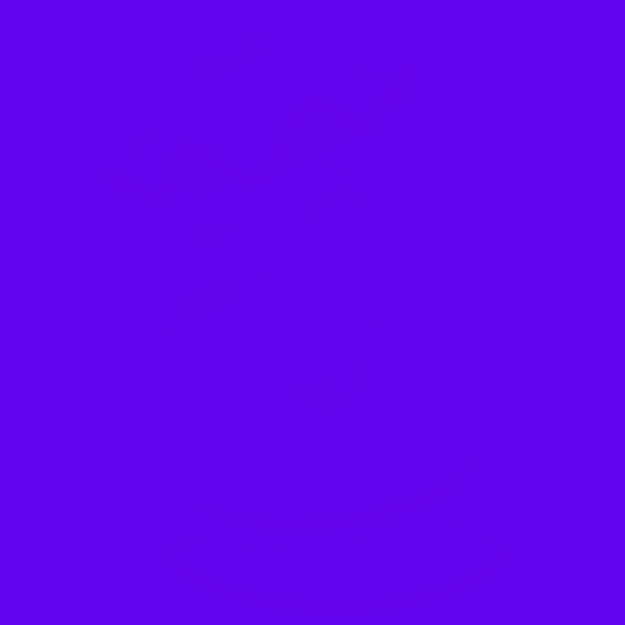 Imagem de um personagem da Disney no fundo de um quadrado azul.
