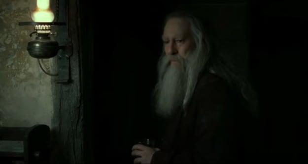 Old man with long white beard