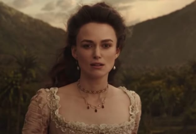 "Elizabeth in ""Pirates of the Caribbean Dead Men Tell No Tales."""