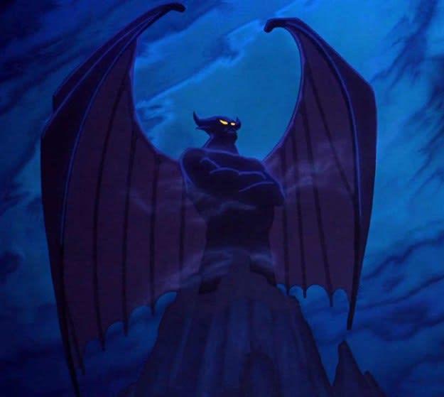 """Imagem do Chernabog, de """"Fantasia""""."""