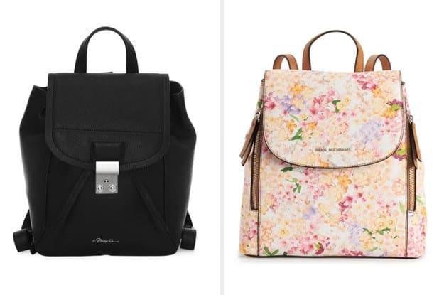 As duas bolsas lado a lado.