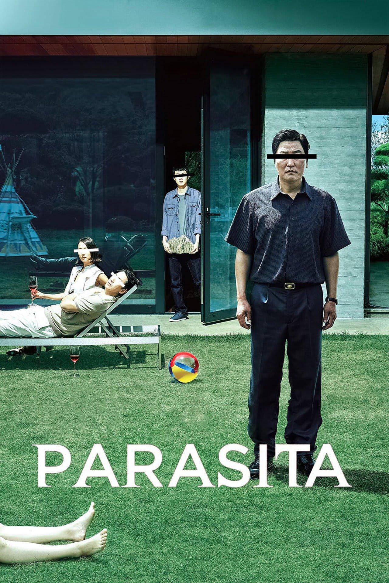 """poster """"Parasita"""""""