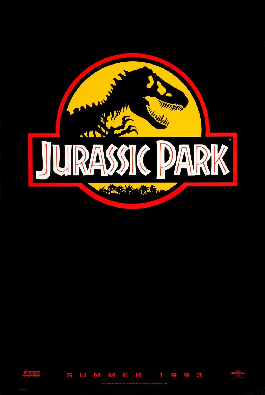 """poster """"Jurassic Park"""""""
