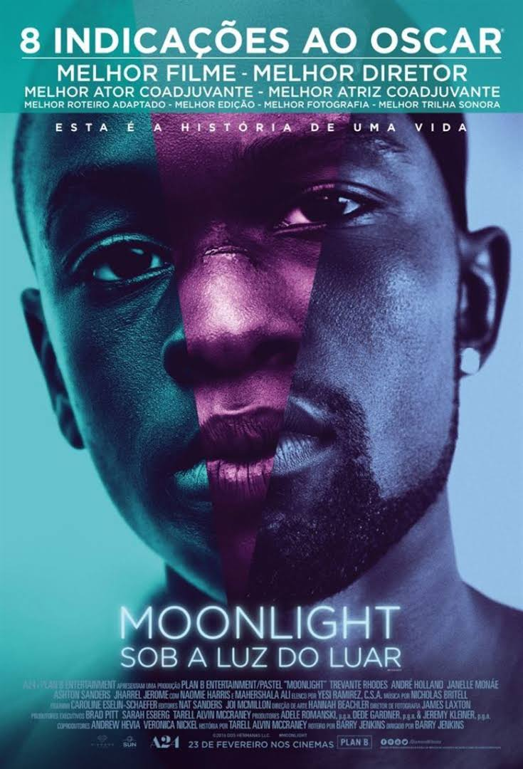 """poster """"Moonlight"""""""