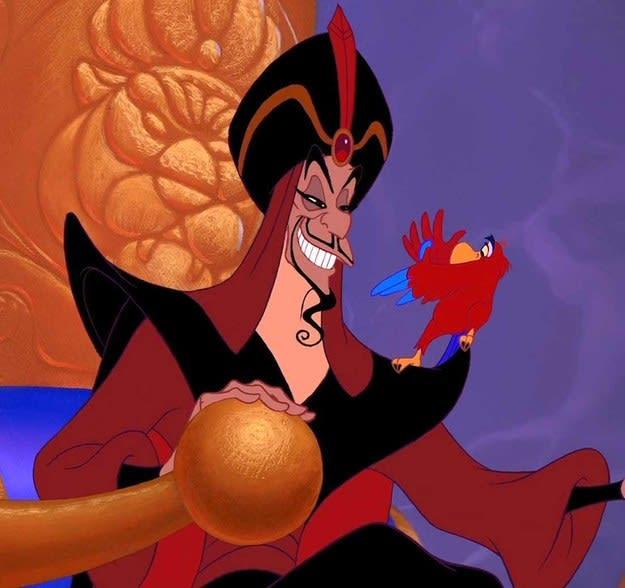 """Imagem do Jafar, de """"Aladdin"""""""