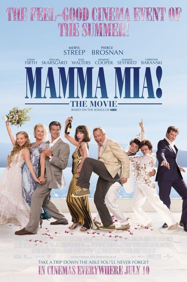 """""""Mamma Mia!"""" movie poster"""