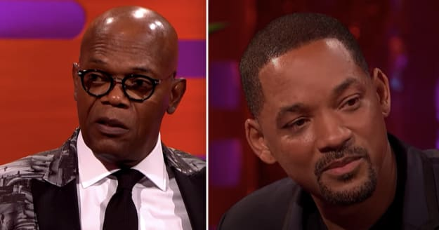 Side-by-side of Samuel L. Jackson and Will Smith