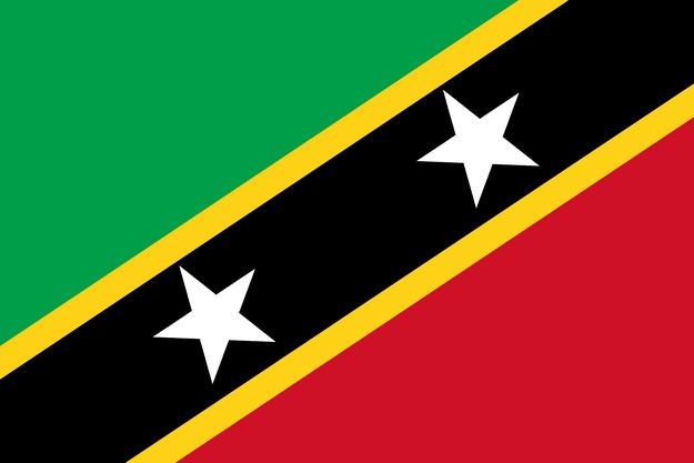 Bandeira de São Cristóvão e Névis