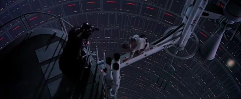Cena de Luke com Darth Vader