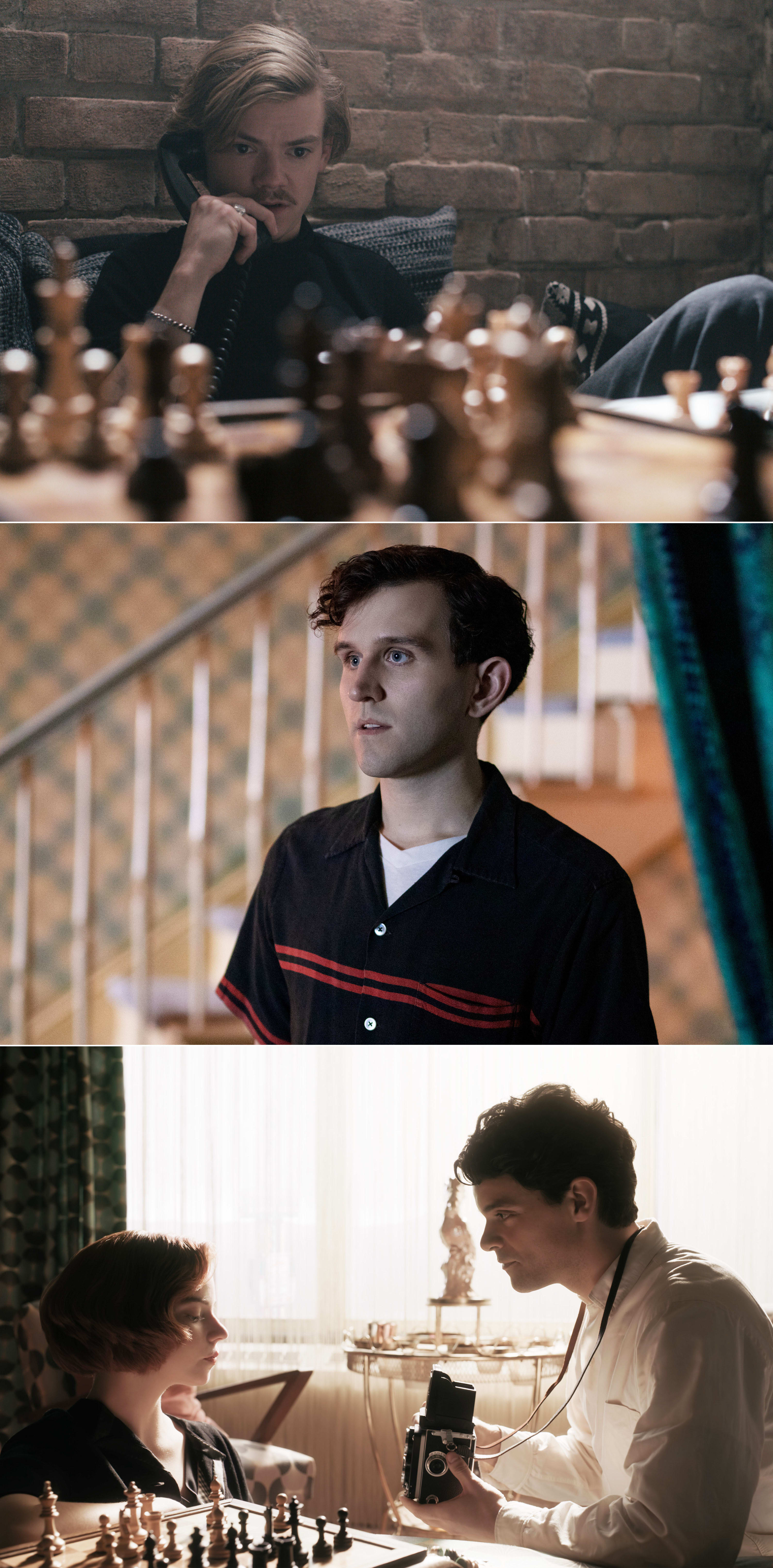 Thomas Brodie-Sangster, Harry Melling e Jacob Fortune-Lloyd