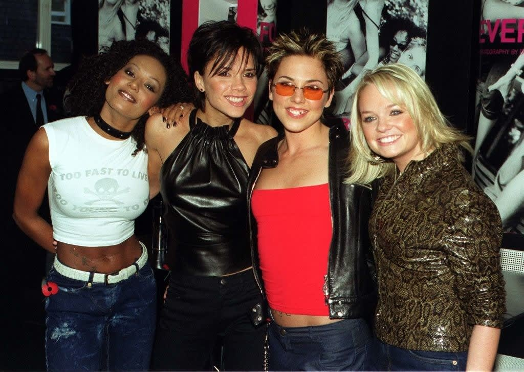 the spice girls with 4 members