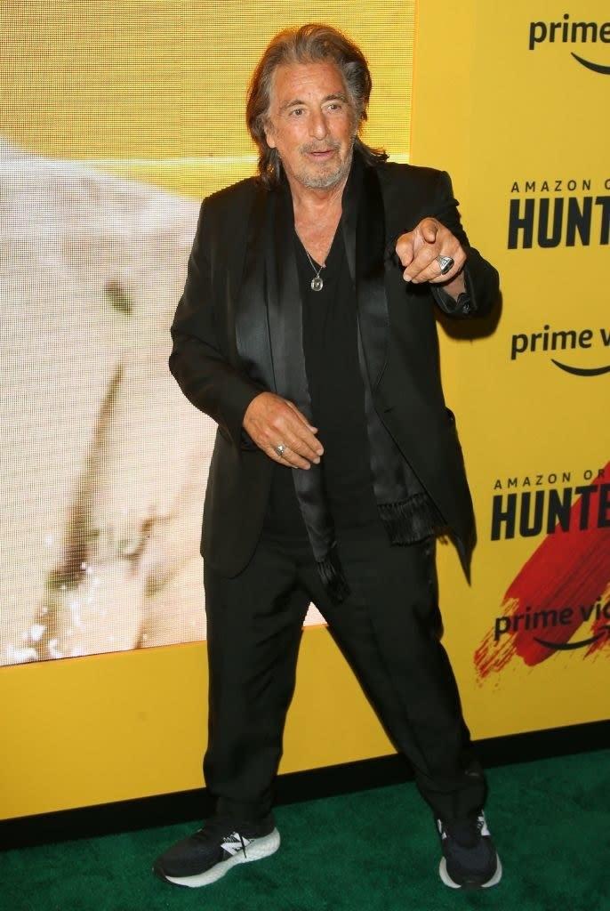 Al Pacino atualmente.