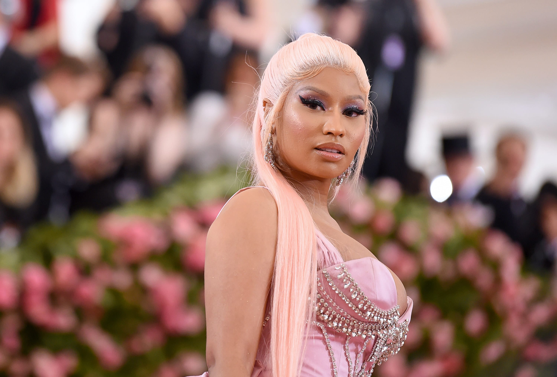 Nicki at the Met Gala