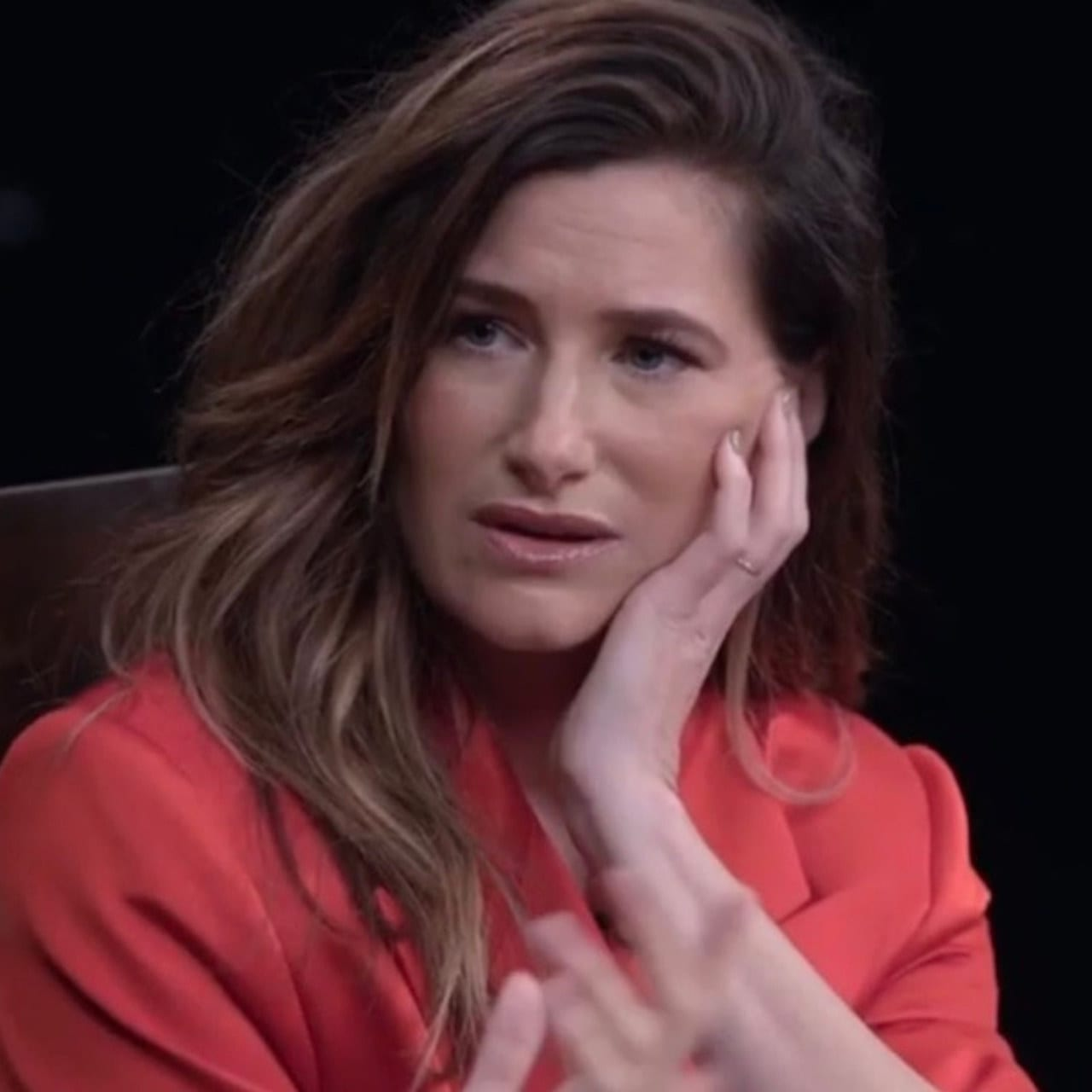 Kathryn Hahn during an Actress Roundtable discussion for the Hollywood Reporter