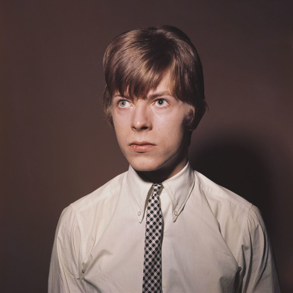 A young David Bowie