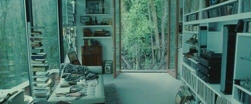 Print do filme, imagem da casa do Edward.