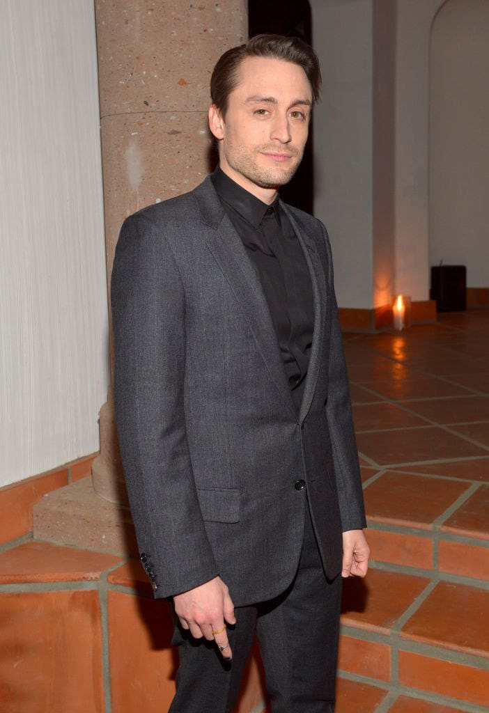Kieran Culkin attends a private dinner hosted by GQ and Dior in celebration of the 2018 GQ Men Of The Year Party