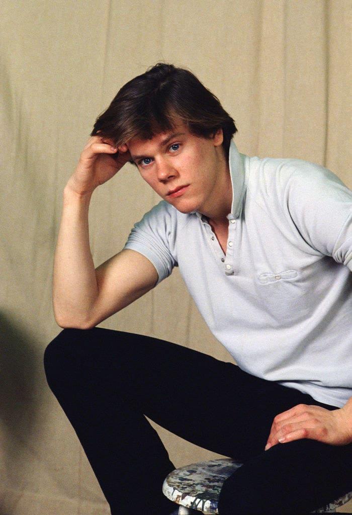 Kevin Bacon quando era jovem.