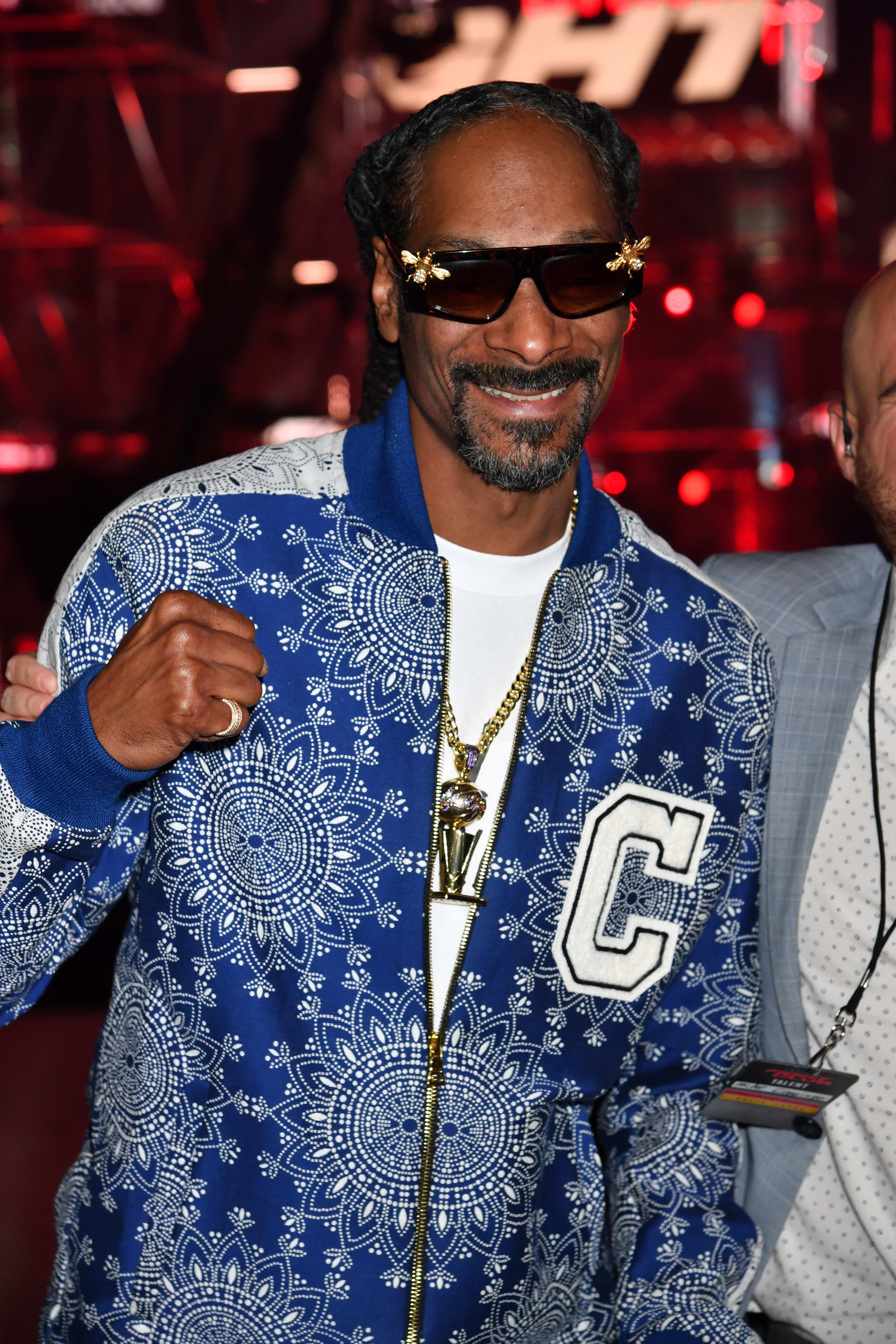 Snoop Dogg at an event in Atlanta in 2021
