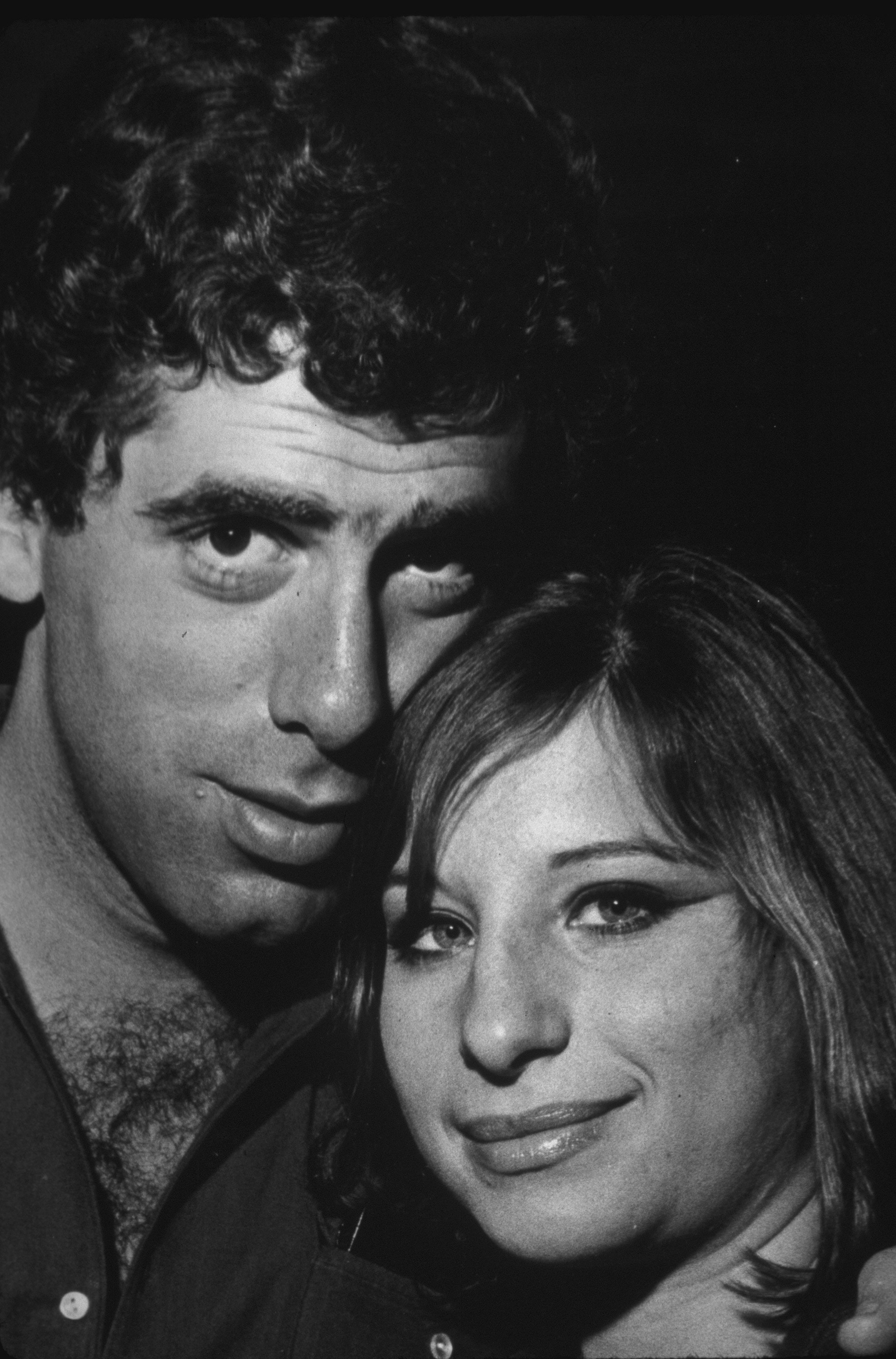 Portrait of Streisand and Gould in the mid-'60s