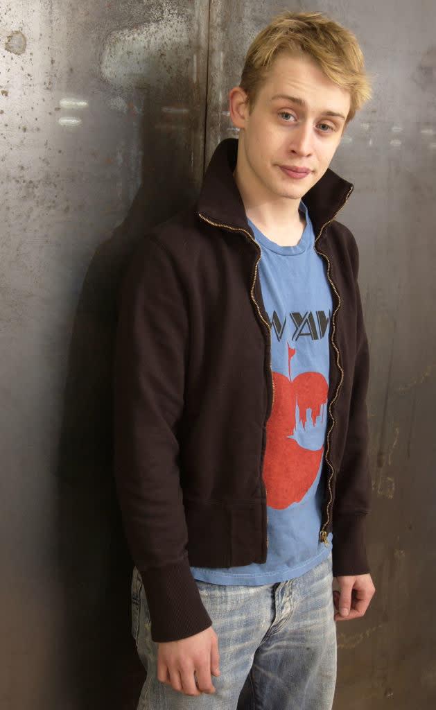 """Macaulay Culkin during 2003 Sundance Film Festival - """"Party Monster"""""""