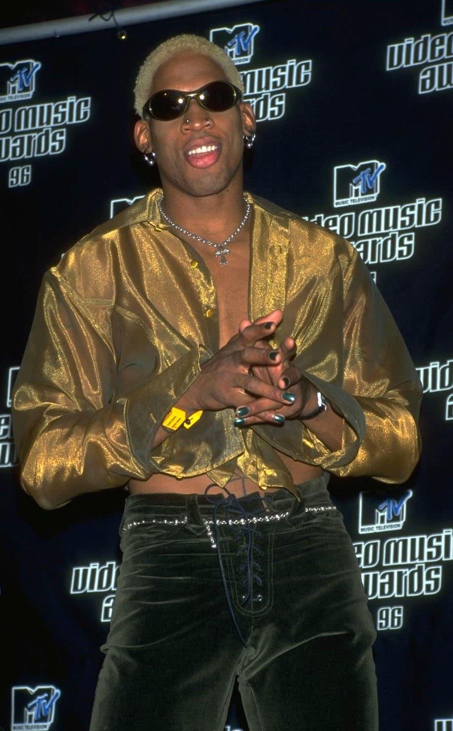 Dennis Rodman no tapete vermelho