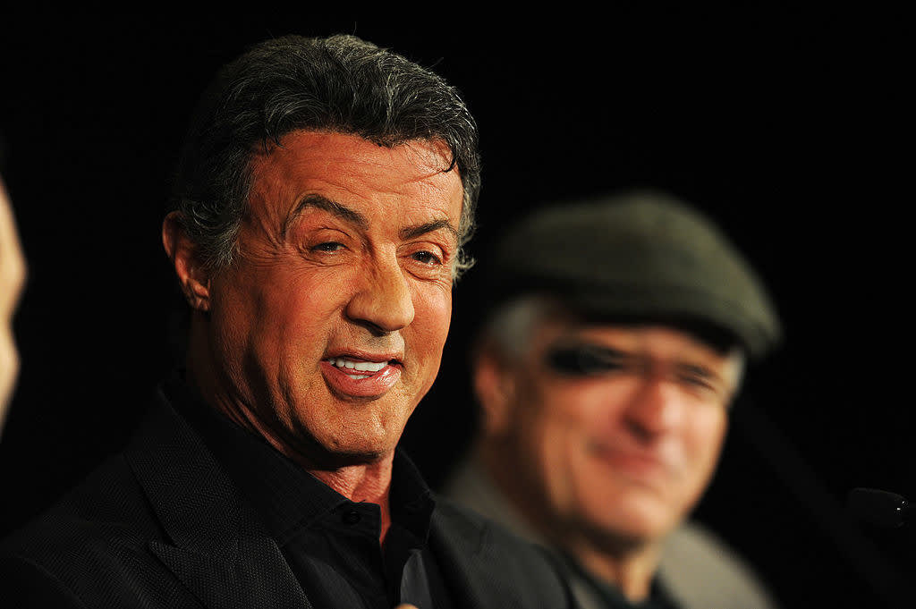 Sylvester Stallone hoje em dia.