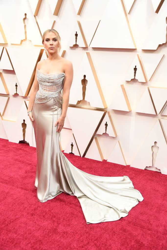 Scarlett on the red carpet