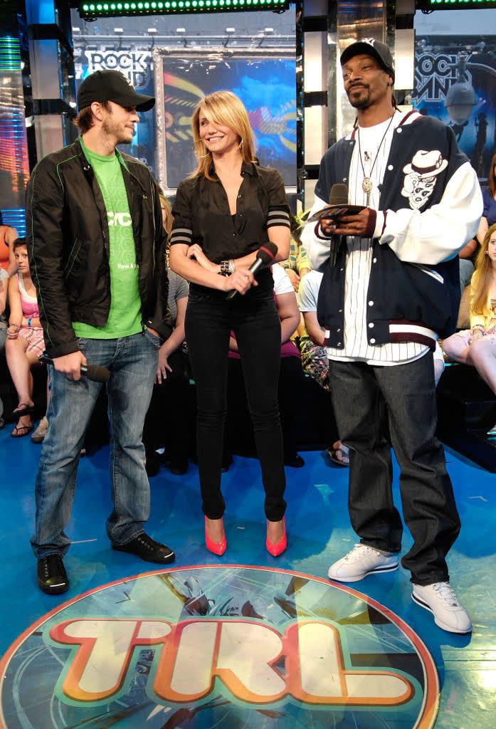 Ashton, Cameron e Snoop