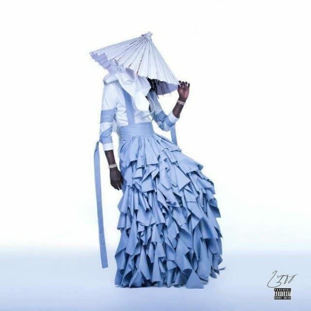 Young Thug de vestido longo na capa do álbum