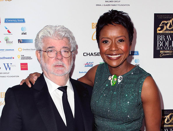 The Lucasfilm founder and the chairperson of Starbucks