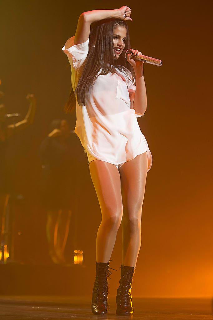 Selena Gomez performs at Oslo Spektrum during her Stars Dance Tour 2013 on September 1, 2013