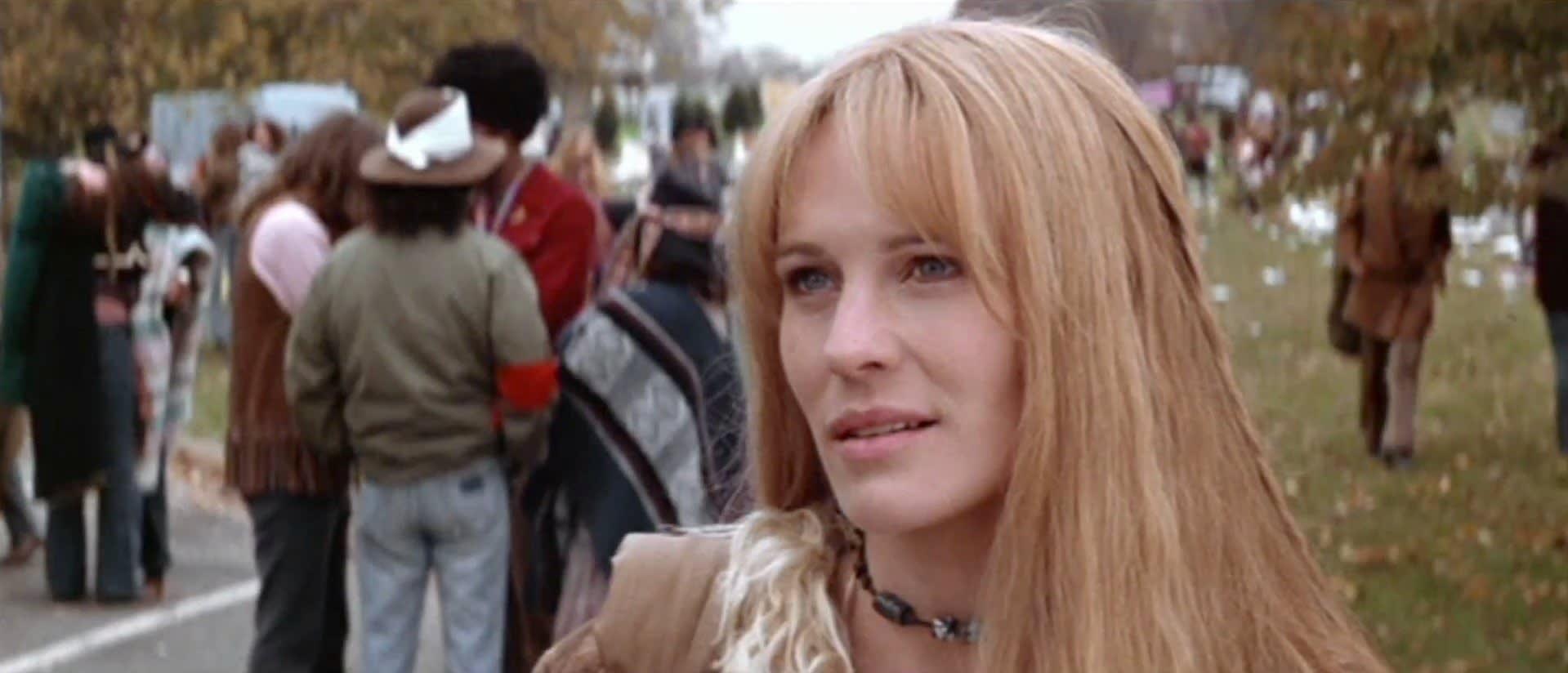 Jenny olhando para Forrest
