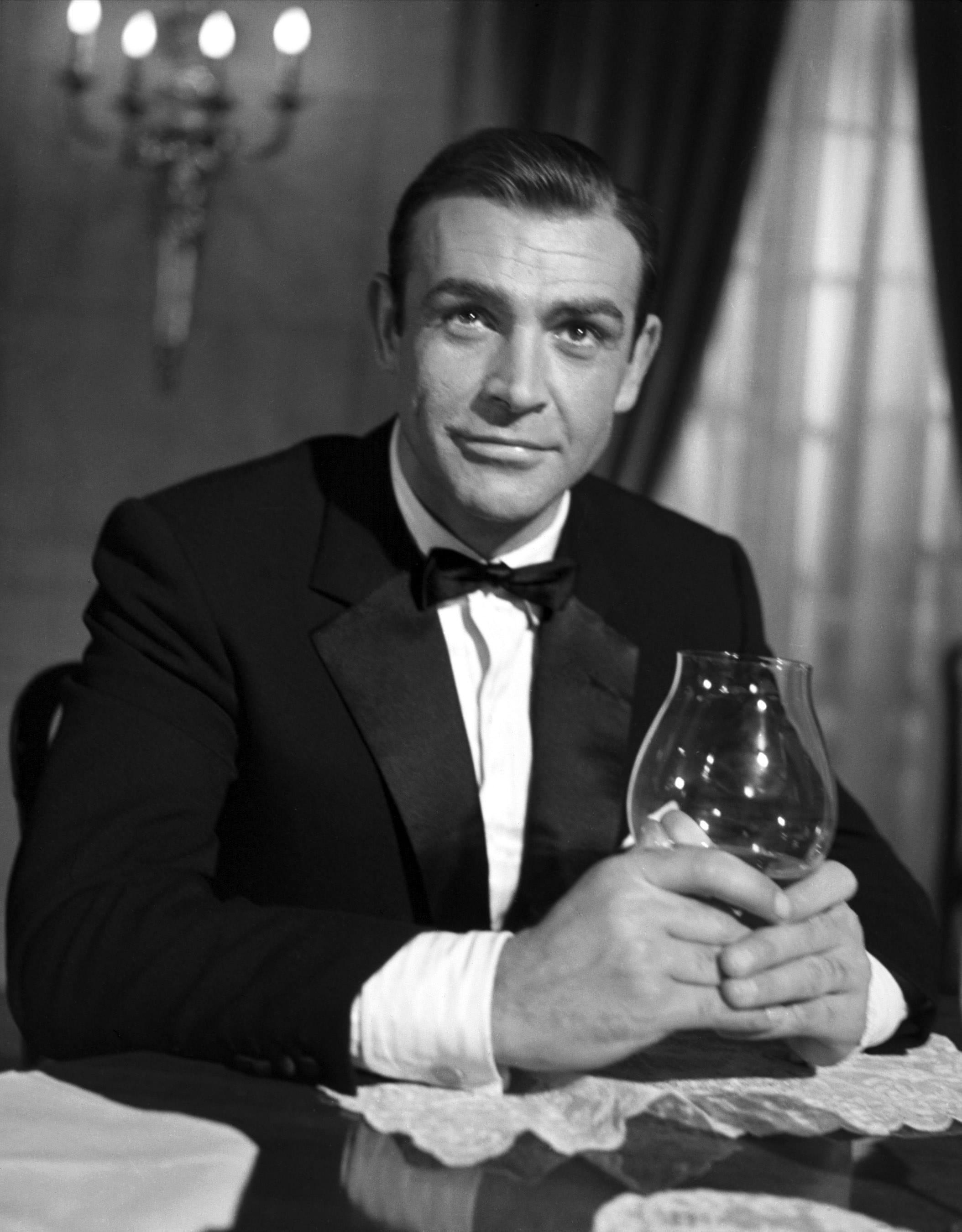 Sean Connery as James Bond