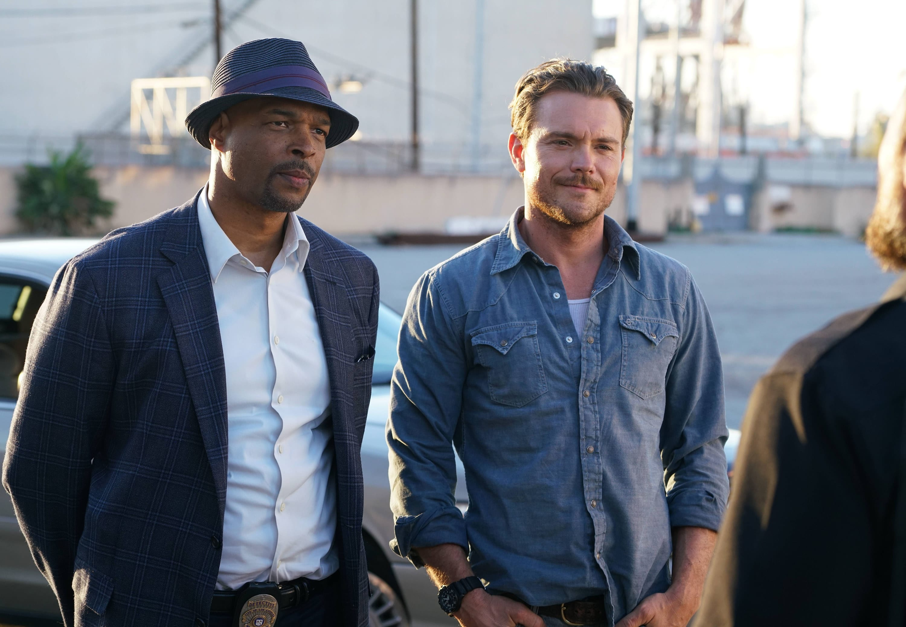 """Damon Wayans and Clayne Crawford on """"Lethal Weapon"""""""