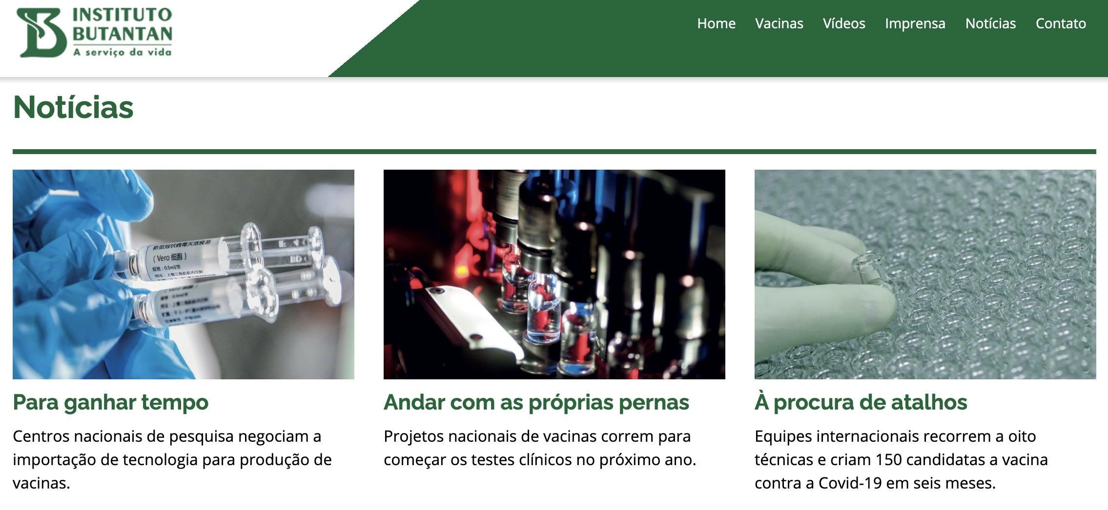 Imagem do site.