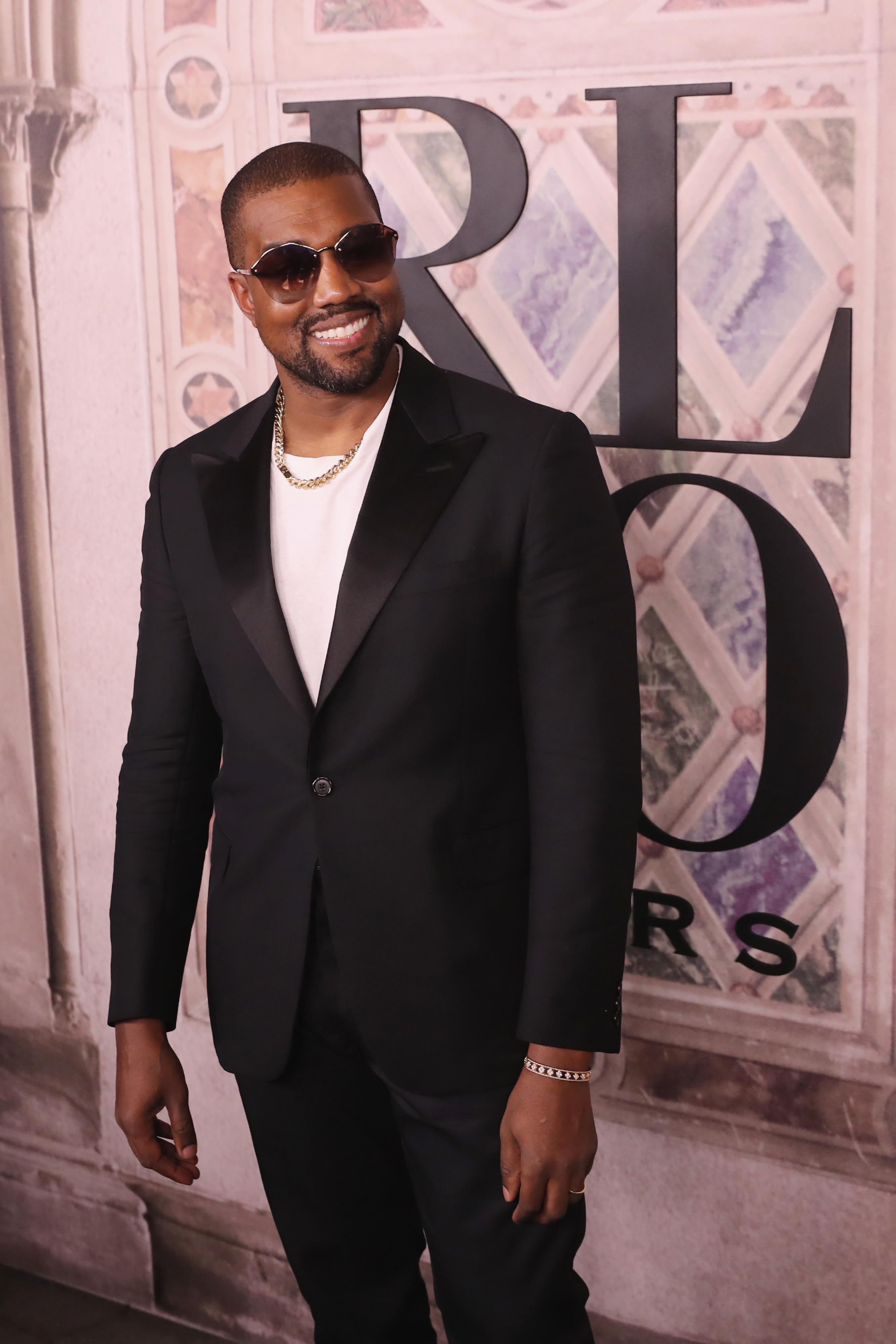 Kanye no tapete vermelho