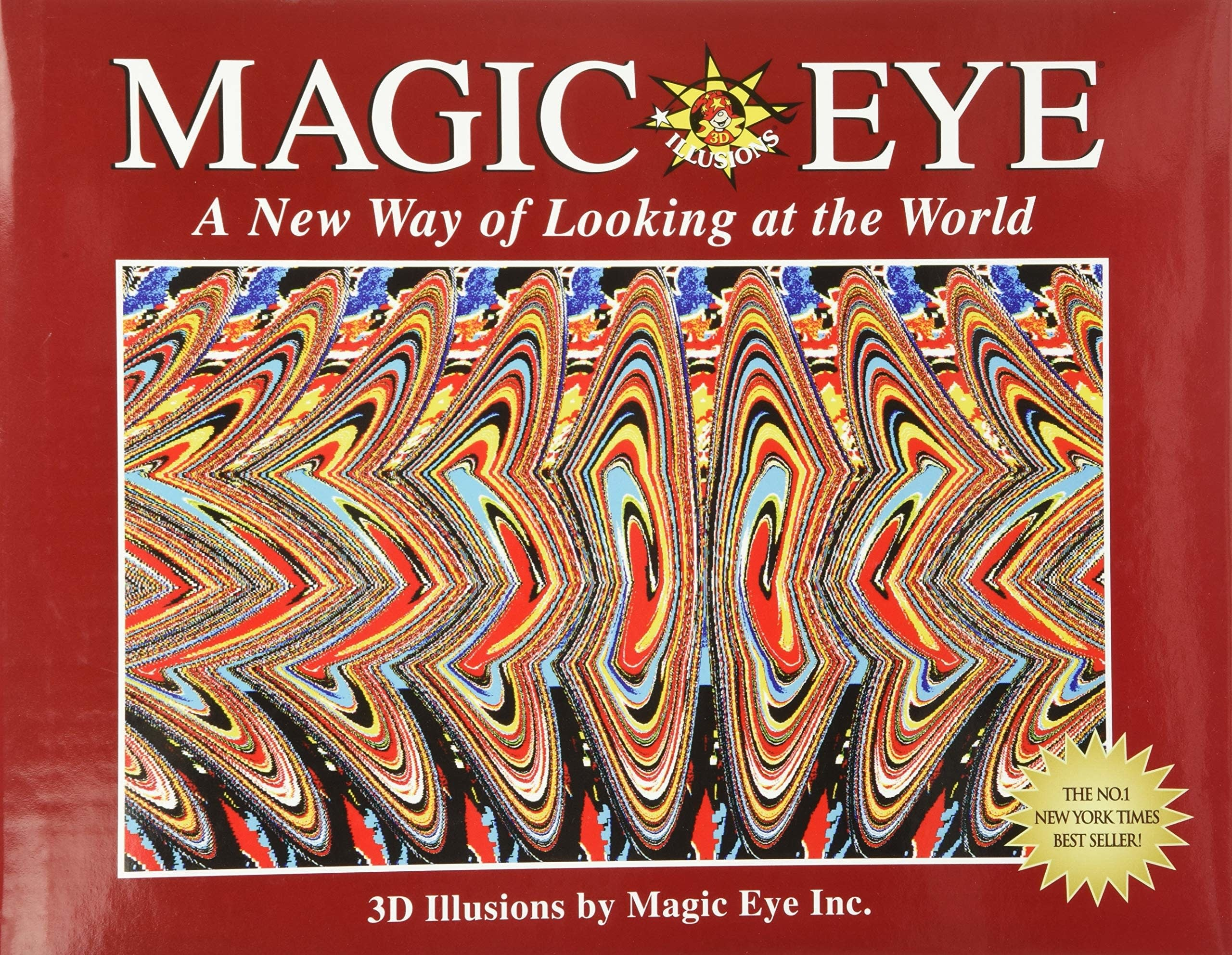 Cover for Magic Eye book
