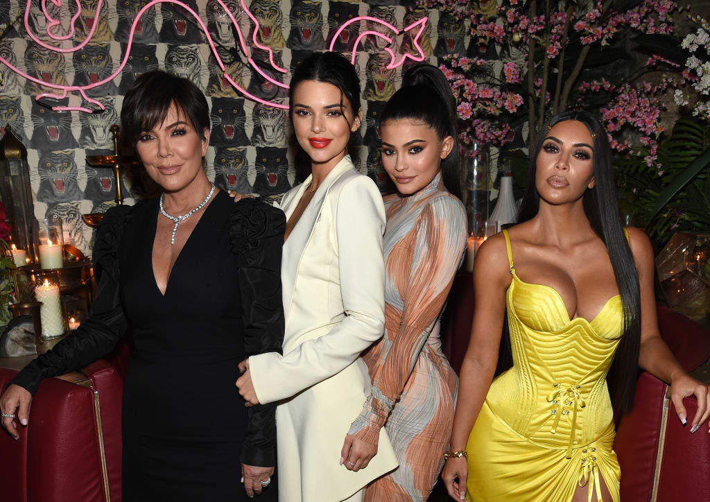 Kris, Kendall, Kylie, and Kim