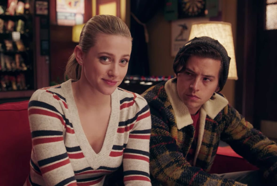 Jughead watches Betty tell a story