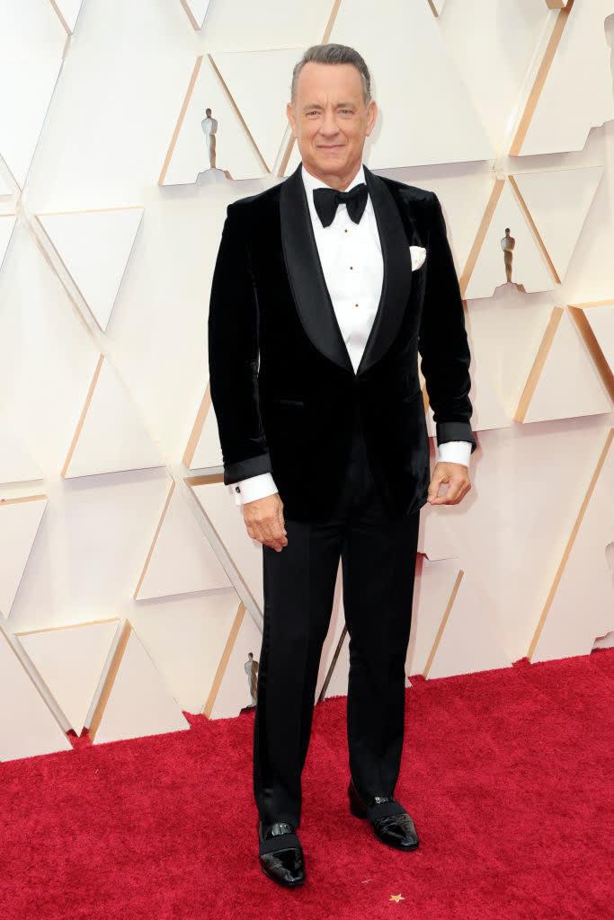 Tom Hanks hoje.