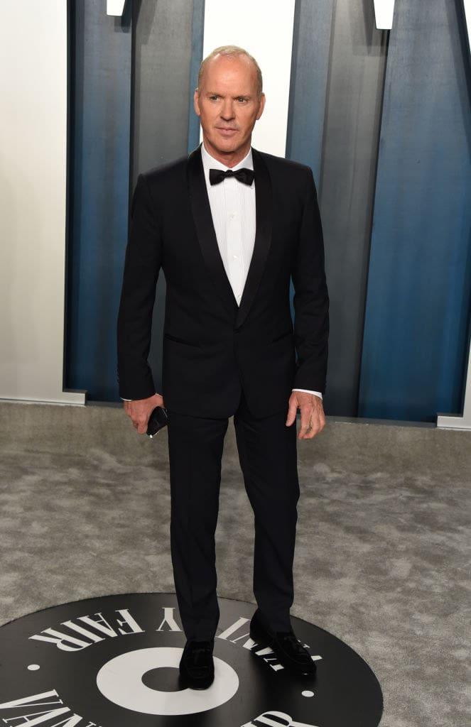 Michael Keaton atualmente.
