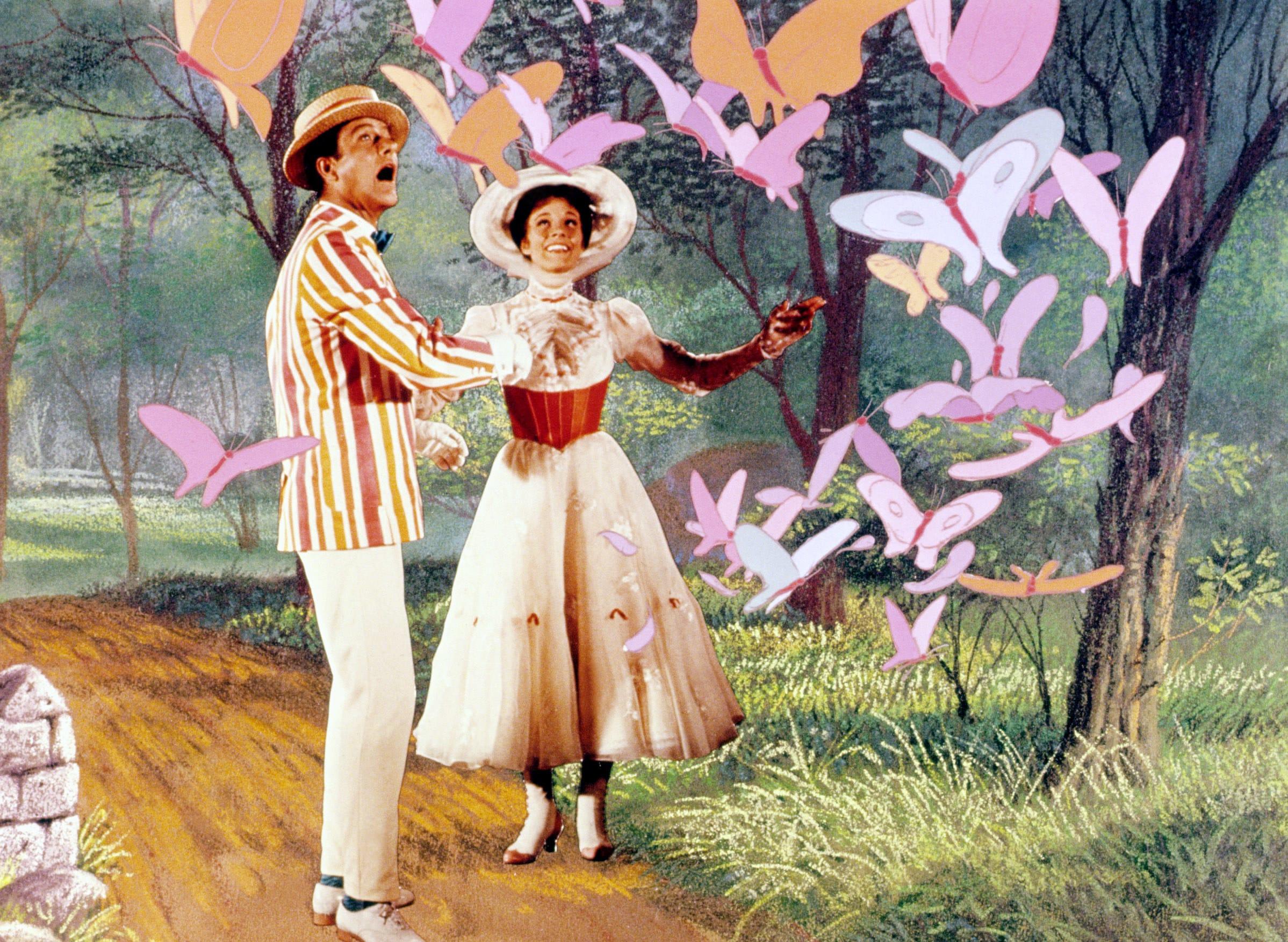 Burt and Mary Poppins